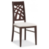 Jedálenská stolička s pekným operadlom