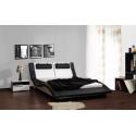 Celočalúnená manželská posteľ DOMINO