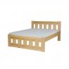 Masívna posteľ do spálne LK119