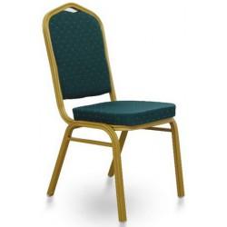 Stohovateľná zelená stolička