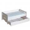 Detská posteľ BORYS jednolôžko s priestrannou zásuvkou