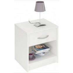 Biely nočný stolík