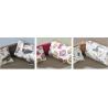 Detská posteľ BORYS - vzor vankúšov