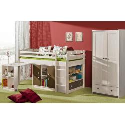 Jednolôžková poschodová posteľ KAMIL