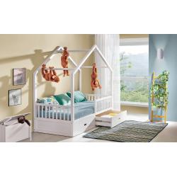 Detská domčeková posteľ WIKTOR