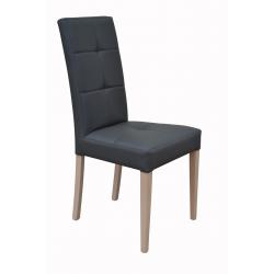 Stolička s celistvým operadlom a sedákom