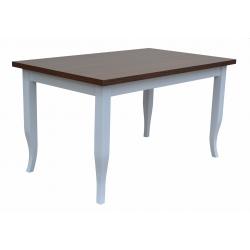Jedálenský stôl Milano s lakovanými nohami