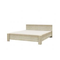 Manželská posteľ MEDIOLAN dub sonoma