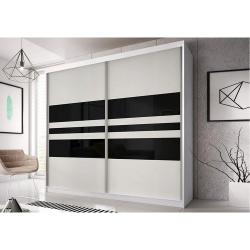 Skriňa s posuvnými dverami MULTI 01 biela