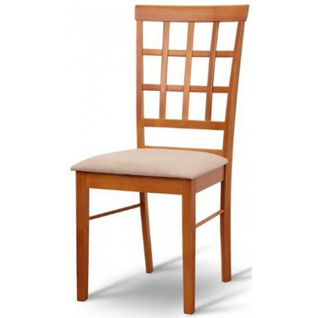 Čalúnená jedálenská stolička