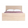 Manželská posteľ Finezja F21 - dub sonoma