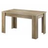 Rozkladací jedálenský stôl Sky SL140 country sivá