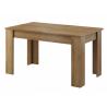 Rozkladací jedálenský stôl Sky SL140 dub riviera