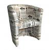 Kreslo CUBA - vzor noviny