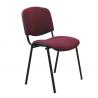 Kancelárska stolička ISO NEW bordová