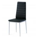 Stolička z kovového materiálu