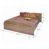 Manželská posteľ 160x200 cm