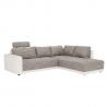 Univerzálna sedačka Orlan - hnedý melír/béžová