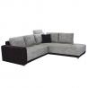 Univerzálna sedačka Orlan - čierna/sivý melír