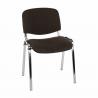 Stohovateľná chrómová stolička