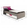 Detská  posteľ Lobete
