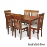 Jedálenský stôl ASTRO - orech, rozmery