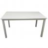 Jedálenský stôl ASTRO - biela