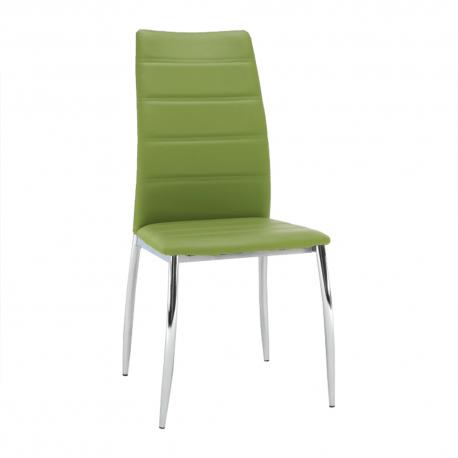 Jedálenská stolička Dela - zelená