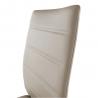 Jedálenská stolička Dela - hnedá