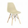 Jedálenská stolička Cinkla - capuccino-vanilka/buk