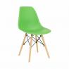 Jedálenská stolička Cinkla - zelená/buk