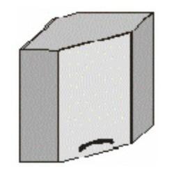 Rohová skrinka - horná