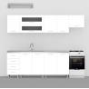 Moderná kuchynská zostava - biela