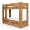 Poschodová posteľ REA PIKACHU - ľavá, dub lancelot