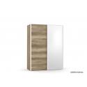 Dvojdverová skriňa so zrkadlom REA HOUSTON 1-ZR
