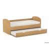 Detská rozkladacia posteľ - buk