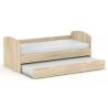 Detská rozkladacia posteľ - dub bardolino