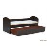 Detská rozkladacia posteľ - wenge