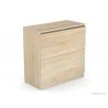 Výklopná skrinka s úložným priestorom - dub bardolino