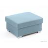 Obdĺžniková taburetka Stacy - modra