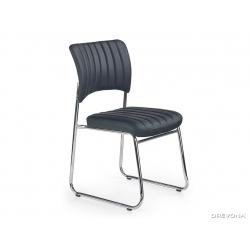 Rokovacia stolička v čiernej farbe