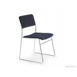 Rokovacia stolička Vito - čierna