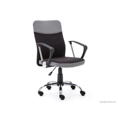 Kancelárska stolička - čierna/sivá