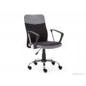 Kancelárska stolička v čiernosivej farbe