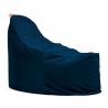 Super kreslo na sedenie v mäkkom snímateľnom poťahu - Zamat - kráľovská modrá