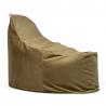 Super kreslo na sedenie v mäkkom snímateľnom poťahu - Zamat - olivovozelená
