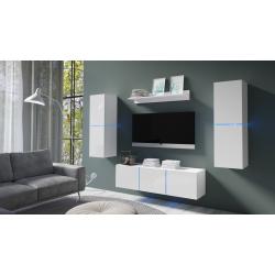 Obývacia stena Domino 1 - biela
