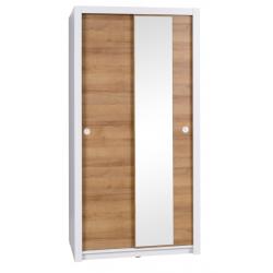 Skriňa IWA s posuvnými dverami a zrkadlom