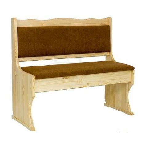Jednoduchá lavica do kuchyne