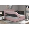 Manželská posteľ GLOSSY BOXSPRINGS